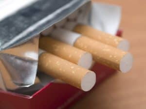pack of cigs